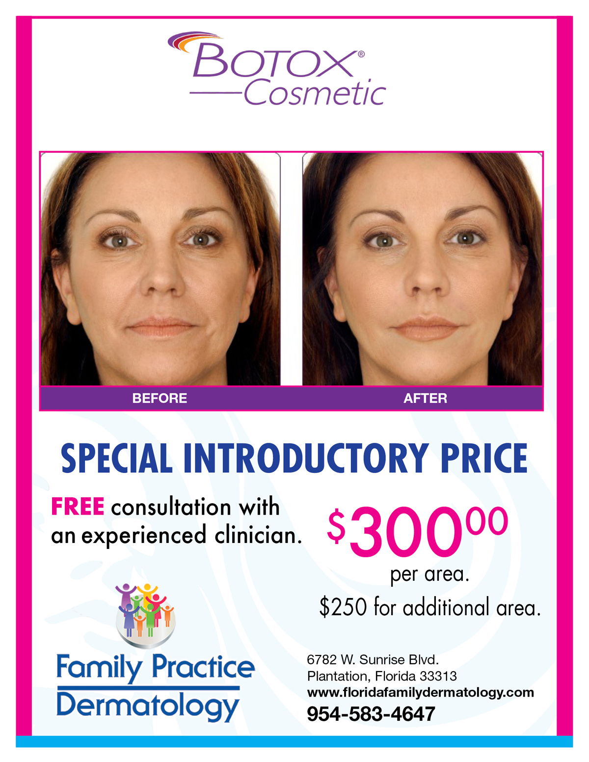 Florida Family Dermatology Specials In Plantation